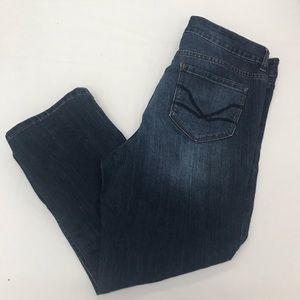 Vintage America Boho Crop Jeans